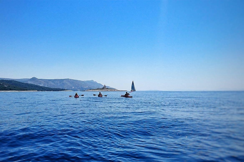 sea kayaking hvar stag croatia 14