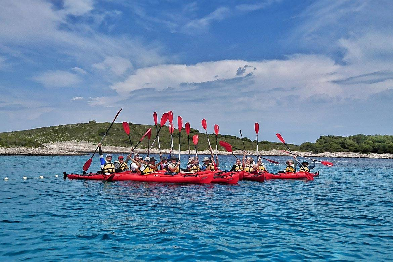 sea kayaking hvar stag croatia 15