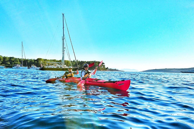 sea kayaking hvar stag croatia 2