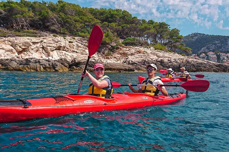 sea kayaking hvar stag croatia 3