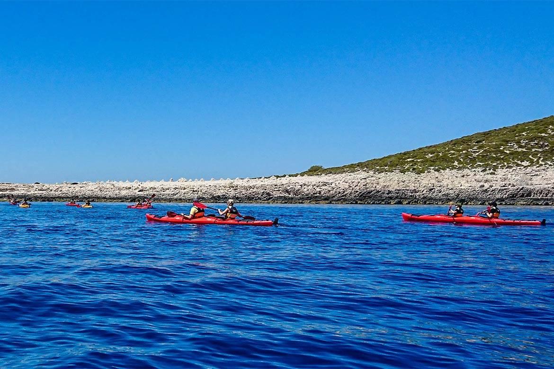 sea kayaking hvar stag croatia 4