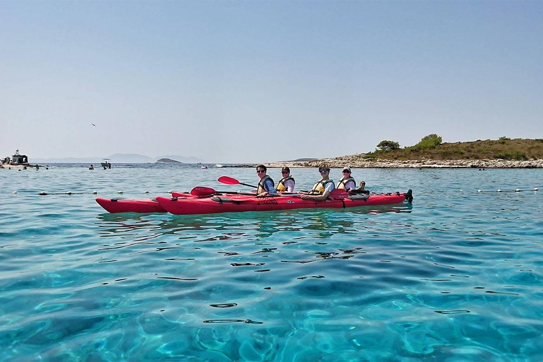 sea kayaking hvar stag croatia 5