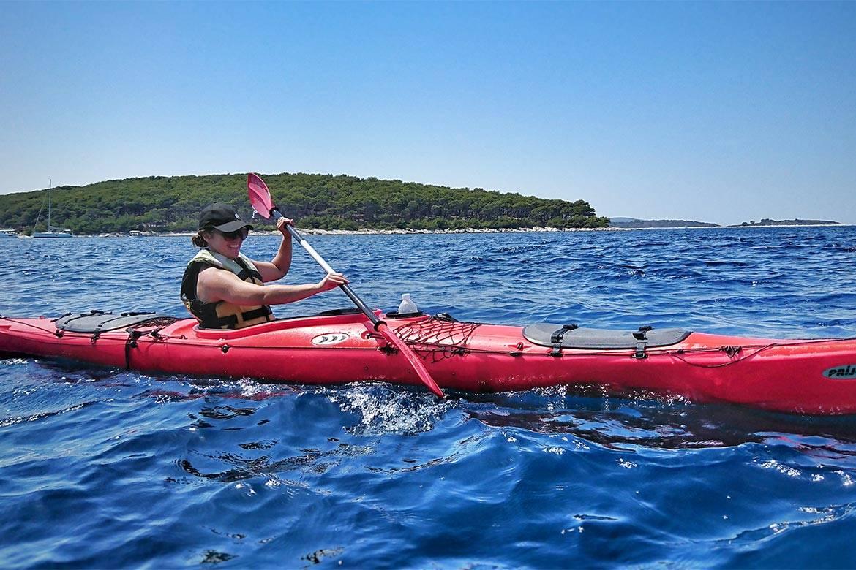 sea kayaking hvar stag croatia 6