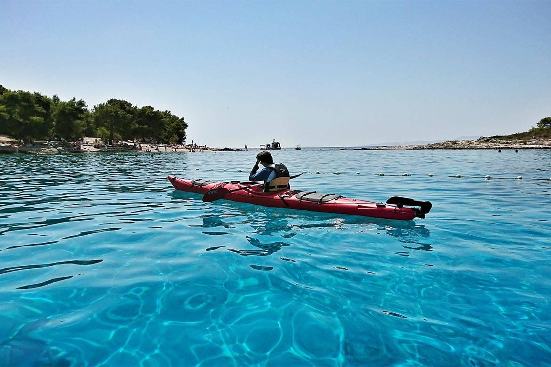 sea kayaking hvar stag croatia 7