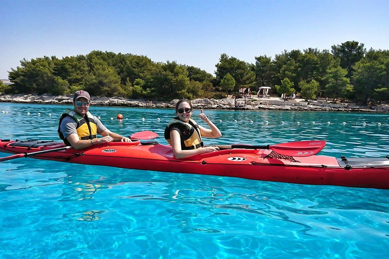 sea kayaking hvar stag croatia 8