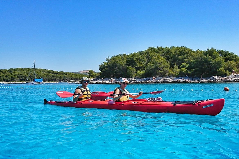 sea kayaking hvar stag croatia 9