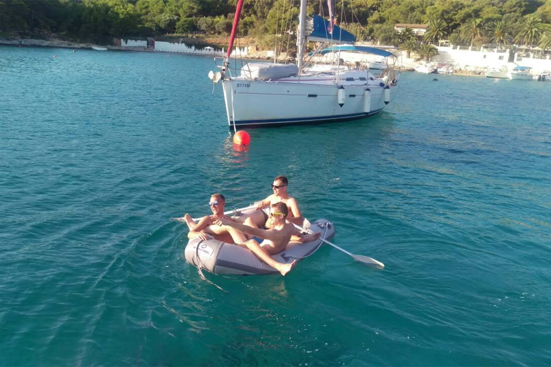 speedboat trip split and blue lagoon 1