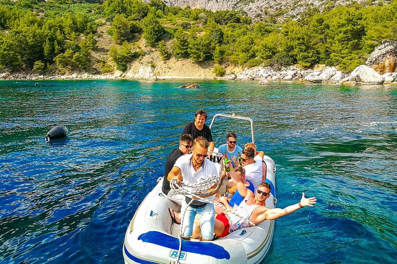 speedboat trip split and blue lagoon 15