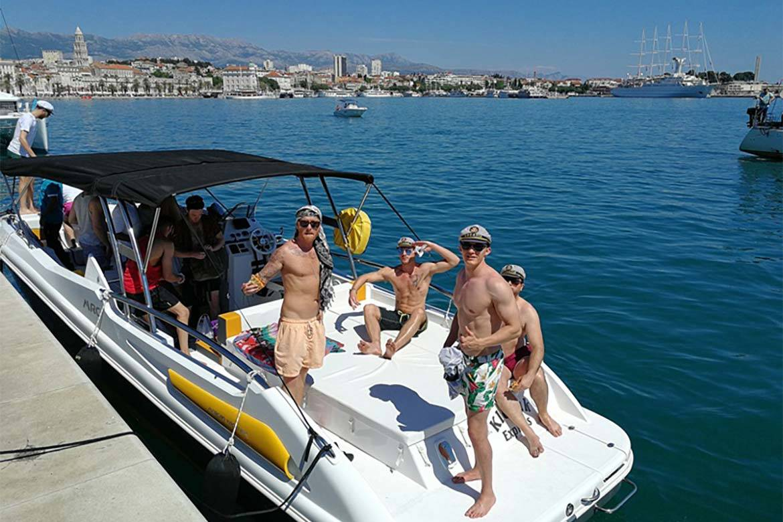 speedboat trip split and blue lagoon 4