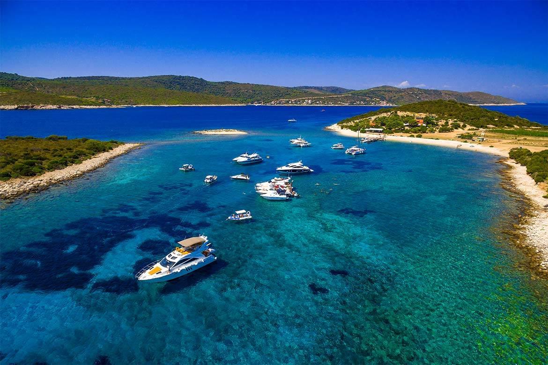 speedboat trip split and blue lagoon 6