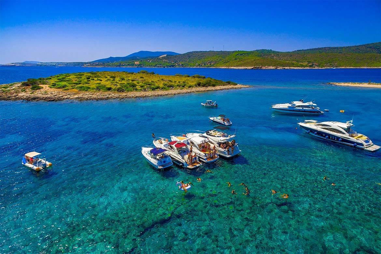 speedboat trip split and blue lagoon 8