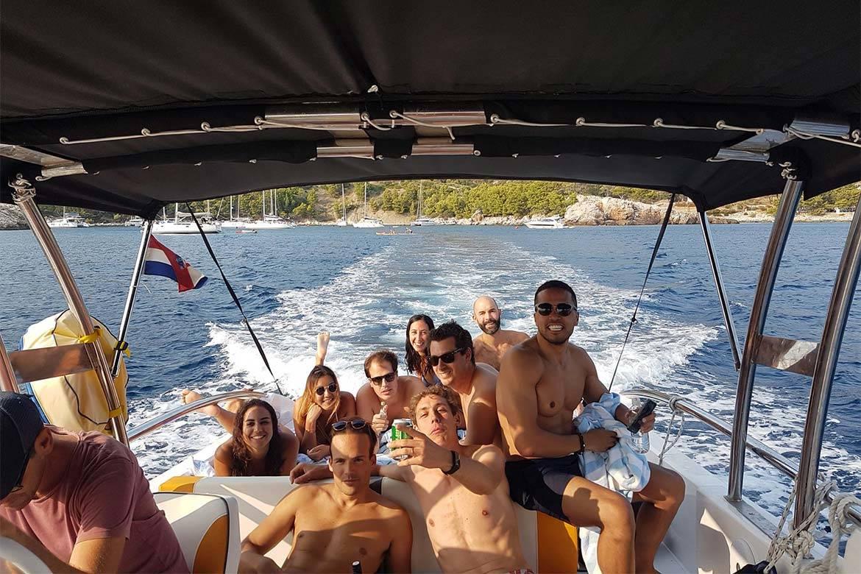 speedboat trip split and blue lagoon 9