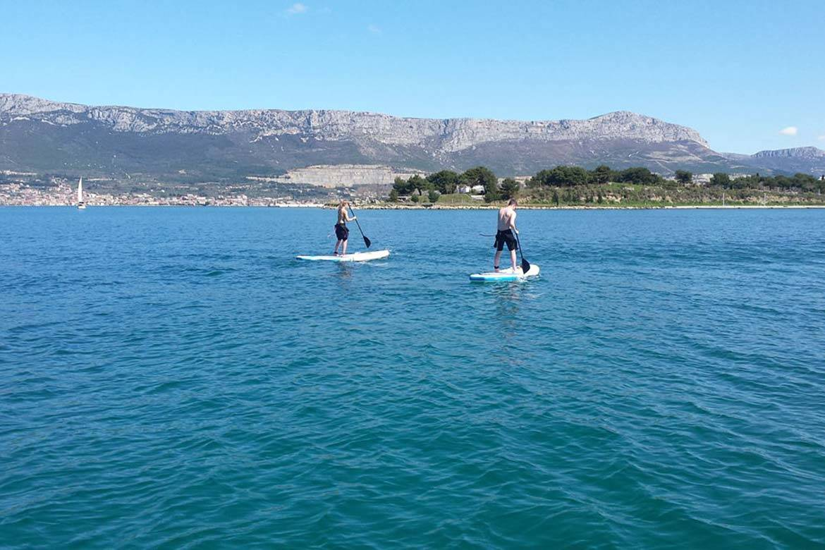 standup paddle board tour stag croatia 1