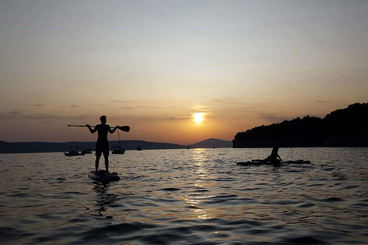 standup paddle board tour stag croatia 2
