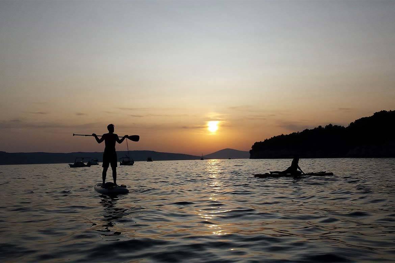 standup paddle board tour stag croatia 2