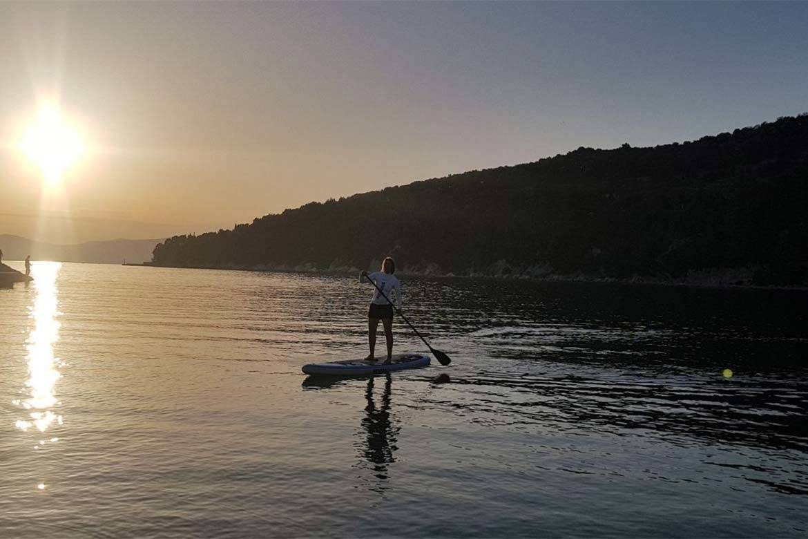 standup paddle board tour stag croatia 5