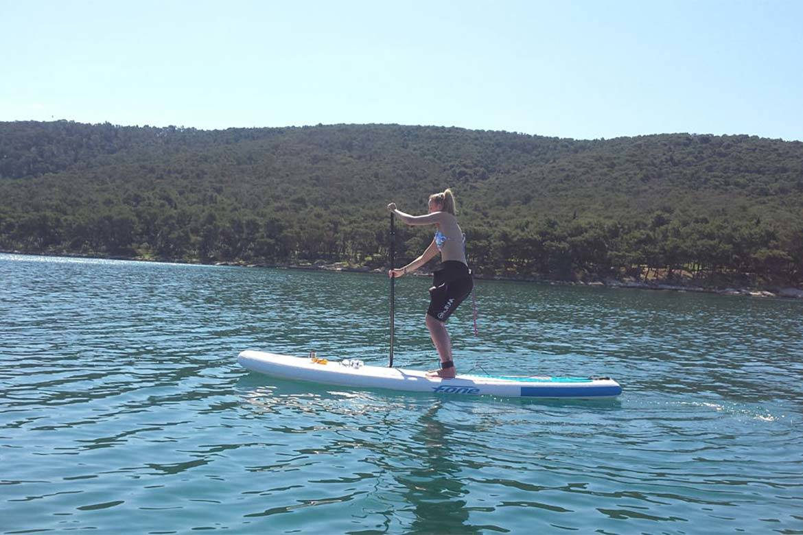 standup paddle board tour stag croatia 6