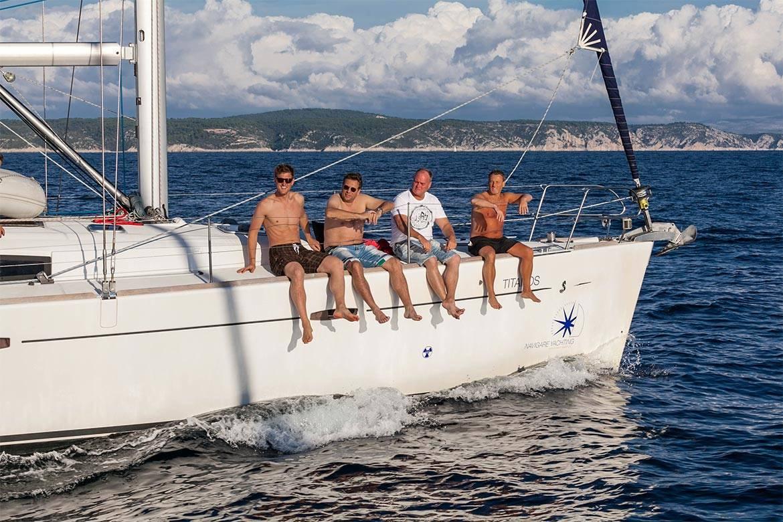sunset sailing cruise hvar stag croatia 1