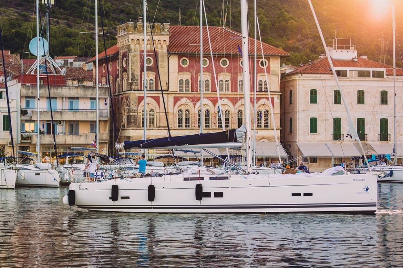 sunset sailing cruise hvar stag croatia 2