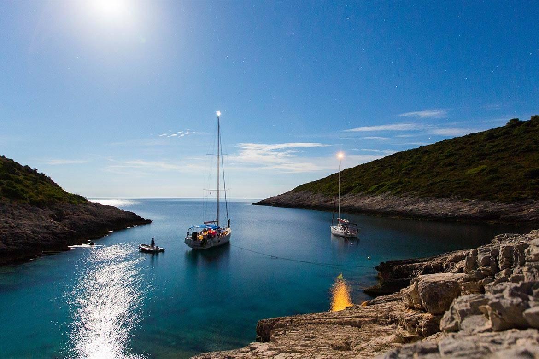 sunset sailing cruise hvar stag croatia 3