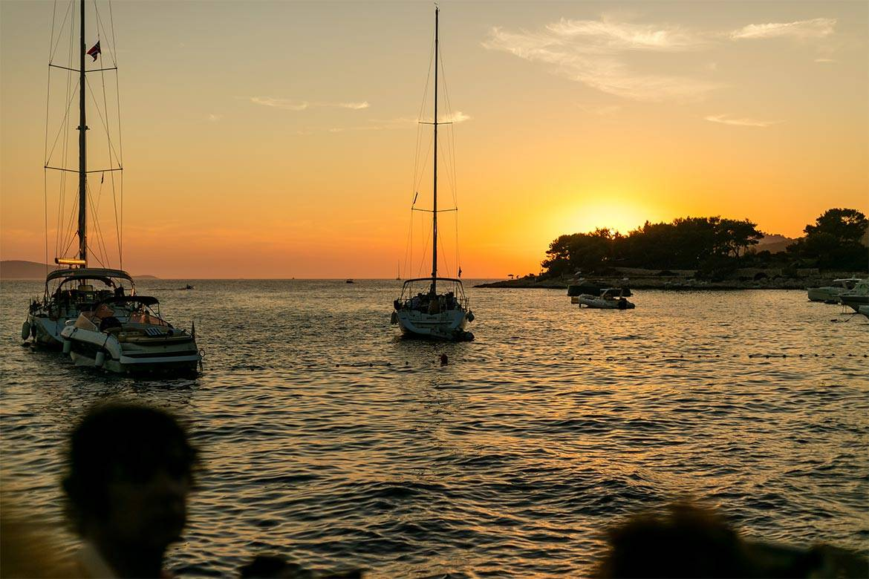 sunset sailing cruise hvar stag croatia 4