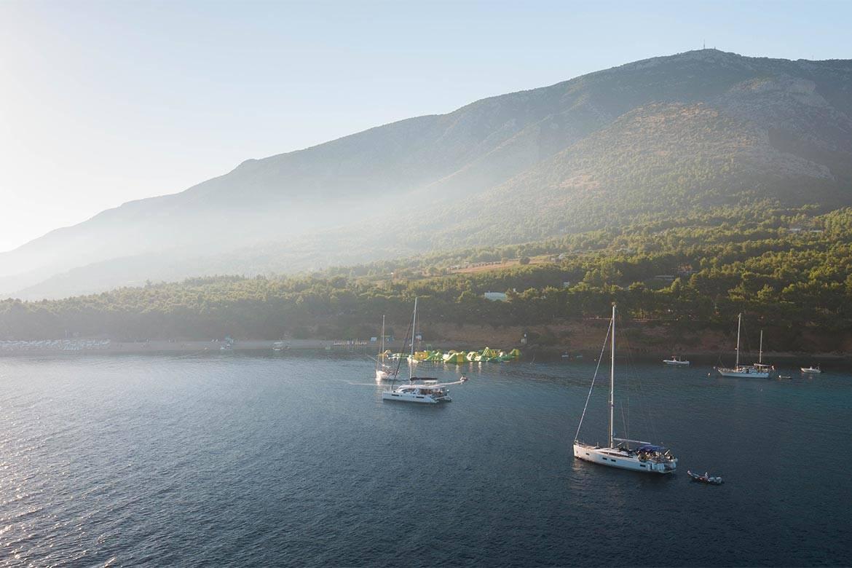 sunset sailing cruise hvar stag croatia 7