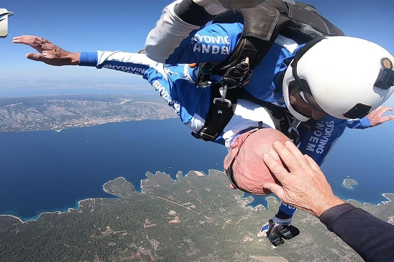 tandem jump hvar stag croatia 12