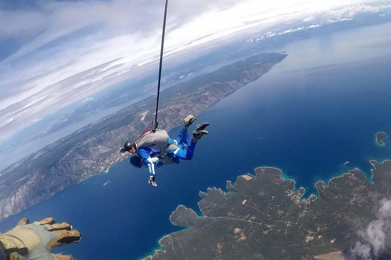 tandem jump skydiving stag croatia 3