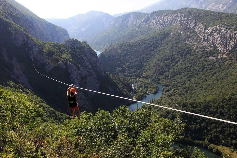 zip line stag croatia 1
