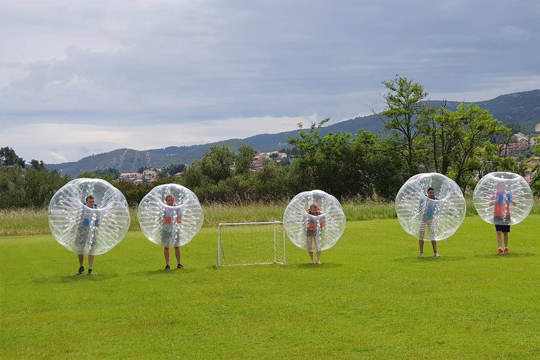 zorb football stag croatia 2
